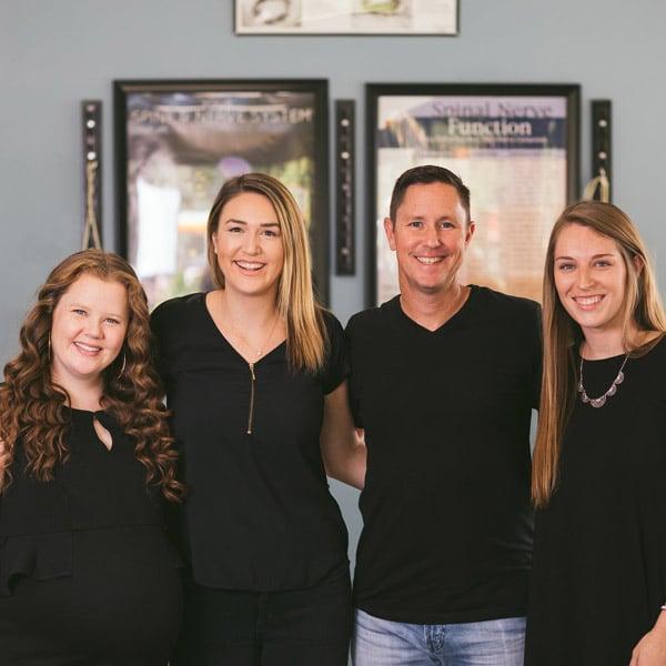Chiropractor Ryan Fenn and Staff