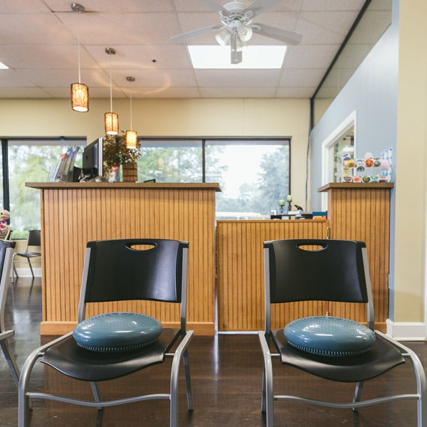 Waiting Area at Fenn Chiropractic